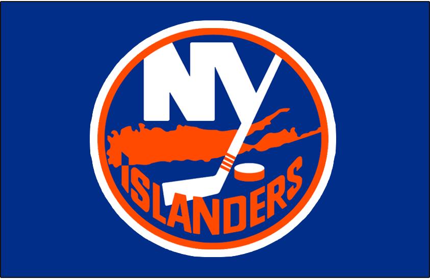 New York Islanders Logo Jersey Logo (2008/09-Pres) - Worn on the New York Islanders home blue jersey starting in 2010/11 season, from 2008-2010 this was worn on the Islanders alternate jersey SportsLogos.Net
