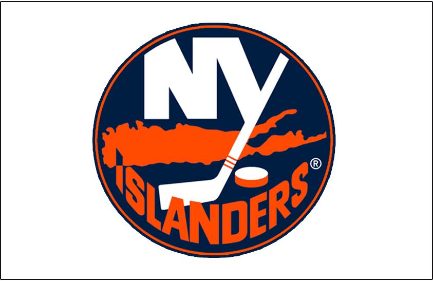 New York Islanders Logo Jersey Logo (2007/08-2009/10) - Worn on the New York Islanders road white jersey from 2007-08 until 2009-10 SportsLogos.Net