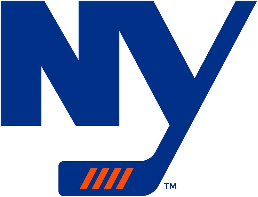 New York Islanders Logo Alternate Logo (2018/19-Pres) - Third Jersey Logo in blue on white SportsLogos.Net