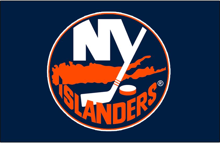 New York Islanders Logo Jersey Logo (2007/08-2009/10) - Worn on the New York Islanders home blue jersey from 2007-08 until 2009-10 SportsLogos.Net
