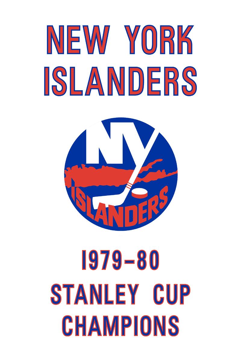 New York Islanders Championship Banner Championship Banner (1979/80) - New York Islanders 1980 Stanley Cup Champions Banner SportsLogos.Net