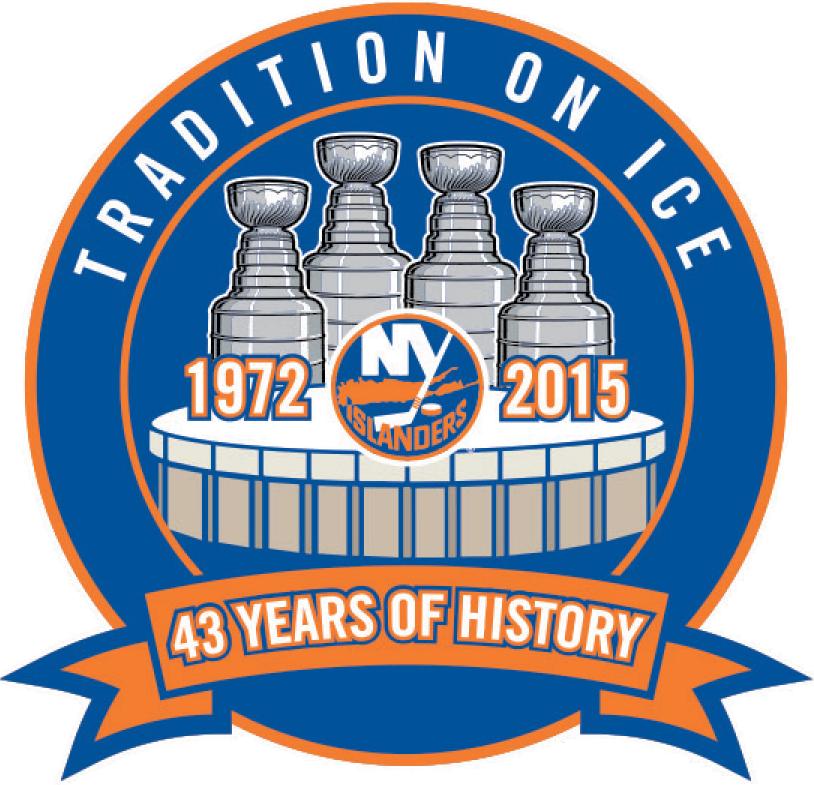 New York Islanders Logo Stadium Logo (2014/15) - New York Islanders Nassau Veterans Memorial Coliseum Final Season Logo -