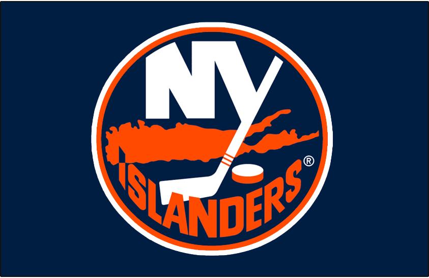New York Islanders Logo Jersey Logo (2002/03-2006/07) - Worn on New York Islanders blue dark jersey from 2002-03 until 2006-07. SportsLogos.Net