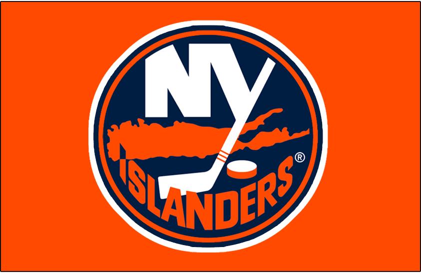 New York Islanders Logo Jersey Logo (2002/03-2006/07) - Worn on New York Islanders orange alternate jersey from 2002-03 until 2006-07. SportsLogos.Net