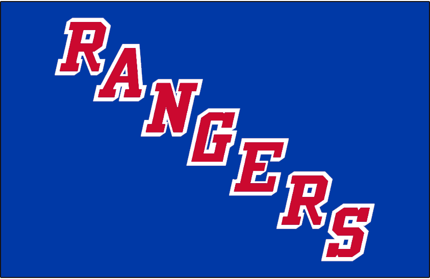 New York Rangers Jersey Logo - National Hockey League (NHL) - Chris ... ccf03e3162a