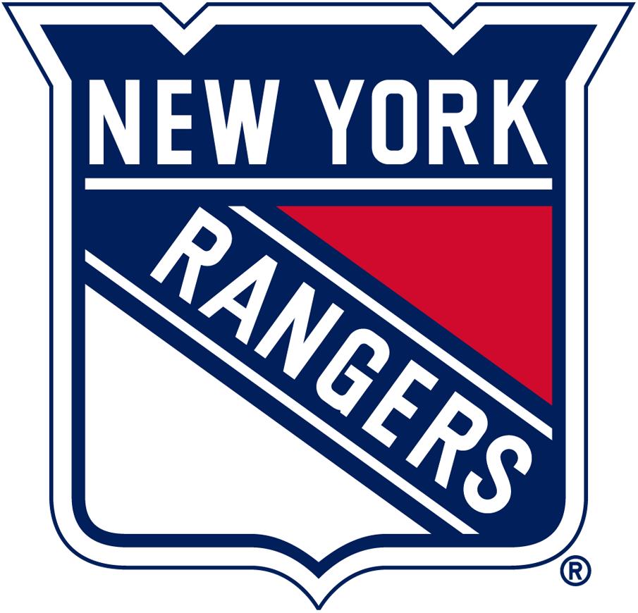 New York Rangers Logo Primary Logo (1971/72-1977/78) -  SportsLogos.Net