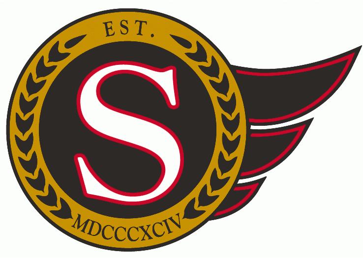 Ottawa Senators Logo Alternate Logo (1992/93-2006/07) -  SportsLogos.Net