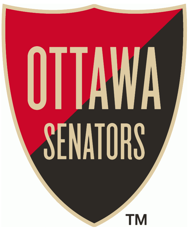 Ottawa Senators Logo Alternate Logo (2011/12-2019/20) - Alternate jersey shoulder patch in english SportsLogos.Net
