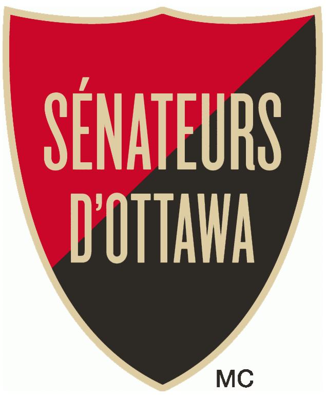 Ottawa Senators Logo Alternate Logo (2011/12-2019/20) - Alternate jersey shoulder patch in french SportsLogos.Net