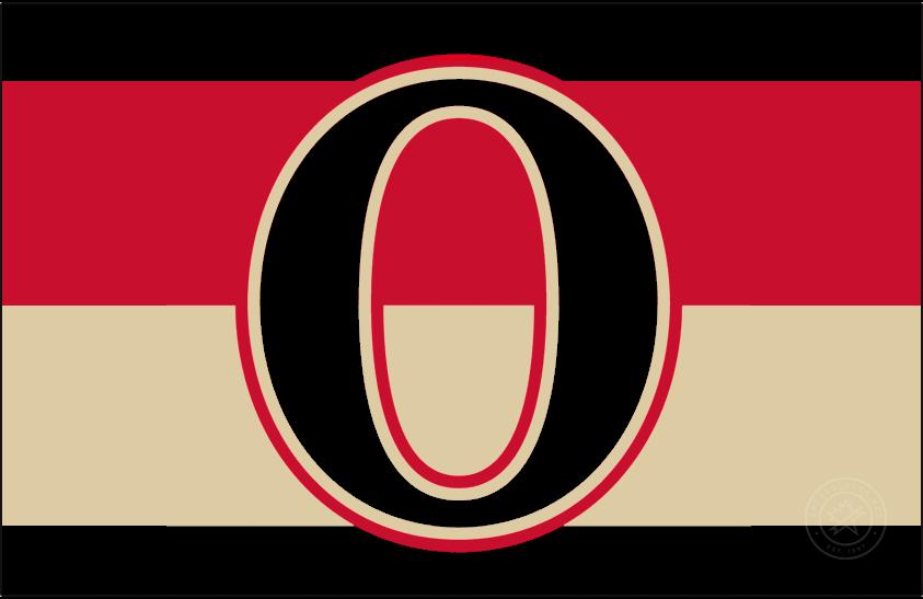 Ottawa Senators Logo Jersey Logo (2011/12-2016/17) - Ottawa Senators Heritage Jersey crest SportsLogos.Net