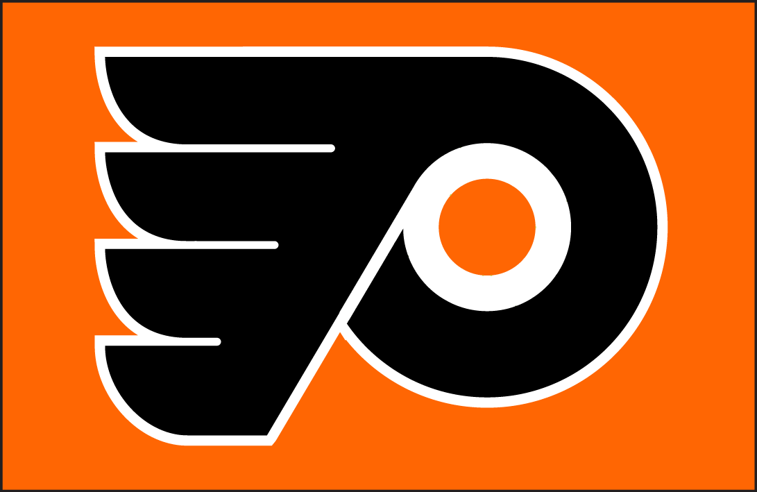 Philadelphia Flyers Logo Jersey Logo (1967/68-1981/82) - Philadelphia Flyers jersey crest Worn from 1967-68 until 1981-82,  SportsLogos.Net