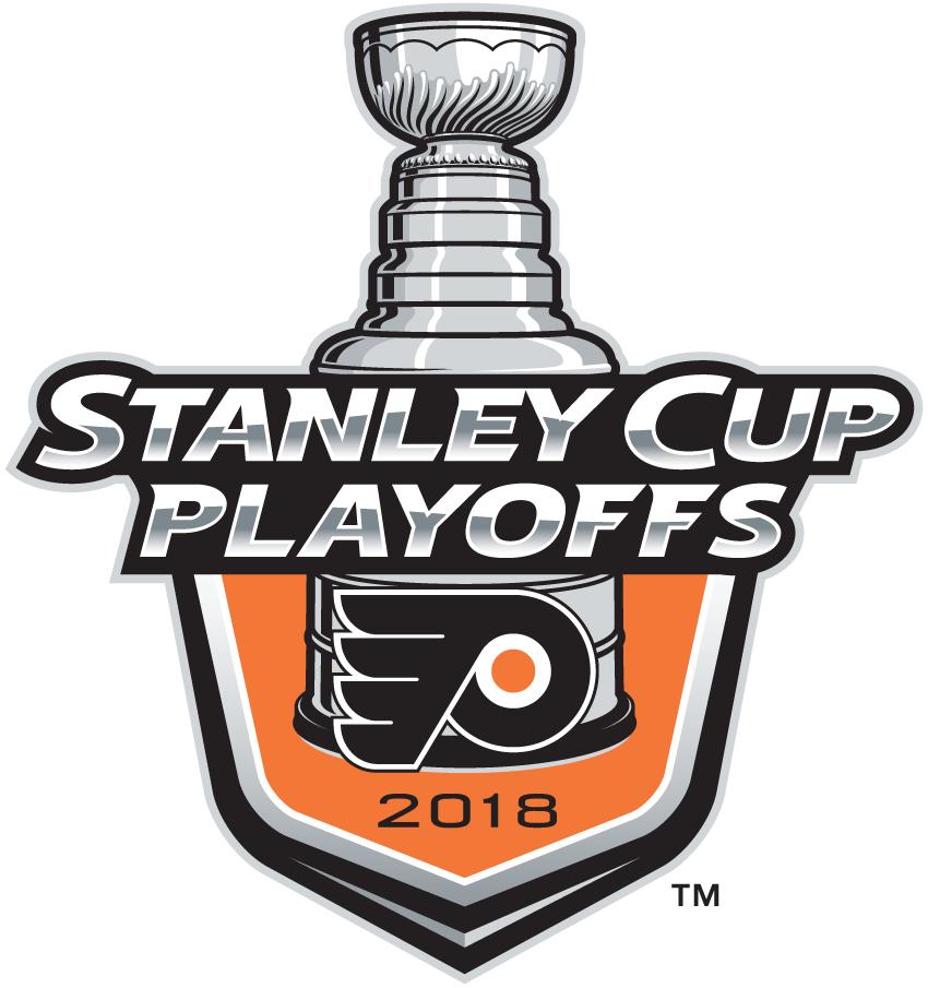 Philadelphia Flyers Logo Event Logo (2017/18) - Philadelphia Flyers 2018 Stanley Cup Playoffs Logo SportsLogos.Net