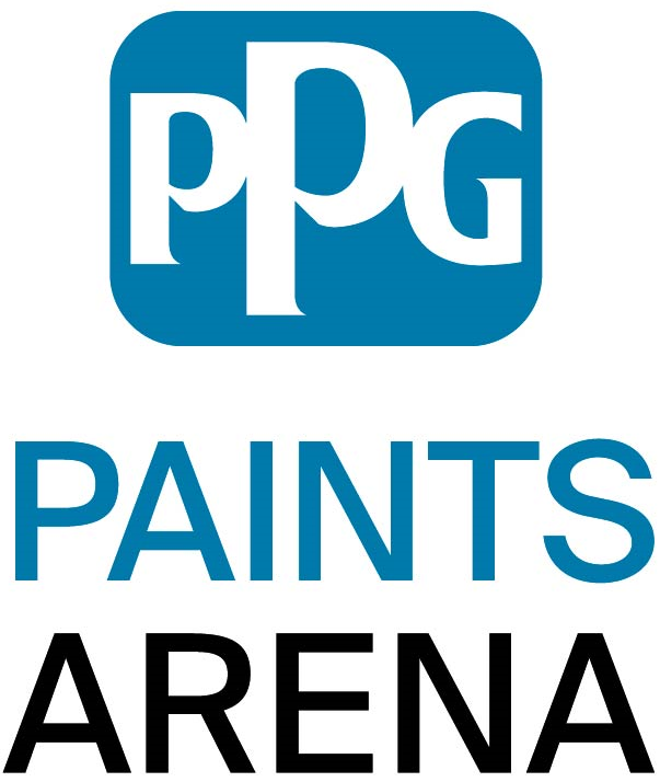 Pittsburgh Penguins Logo Stadium Logo (2016/17-Pres) - PPG Paints Arena logo SportsLogos.Net