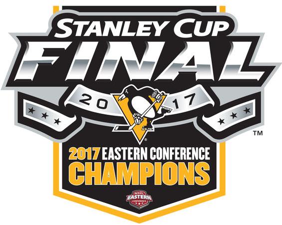 Pittsburgh Penguins Logo Champion Logo (2016/17) - 2017 Eastern Conference Champions logo SportsLogos.Net