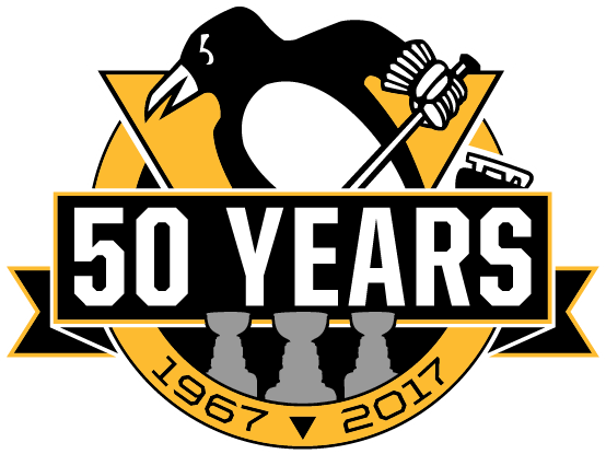 Pittsburgh Penguins Unused Logo (2017) 50th Anniversary logo, made ...