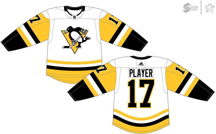 Pittsburgh Penguins Light Uniform - National Hockey League ...
