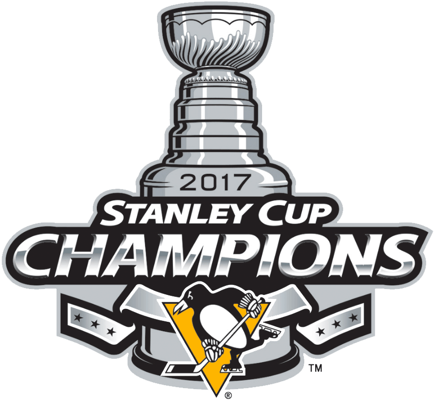Pittsburgh Penguins Logo Champion Logo (2016/17) - Pittsburgh Penguins 2017 Stanley Cup Champions logo SportsLogos.Net