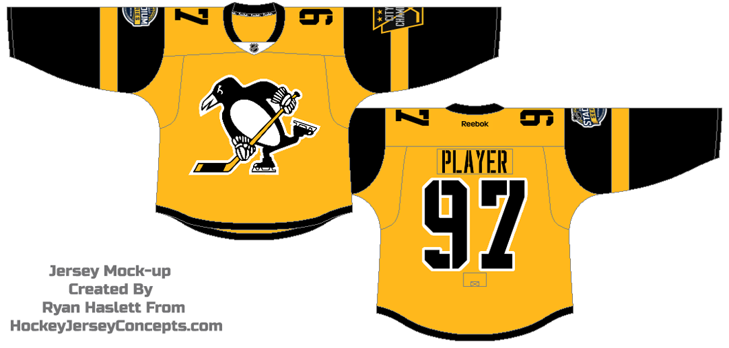 Pittsburgh Penguins Special Event Uniform - National Hockey League ... a5f42d75a