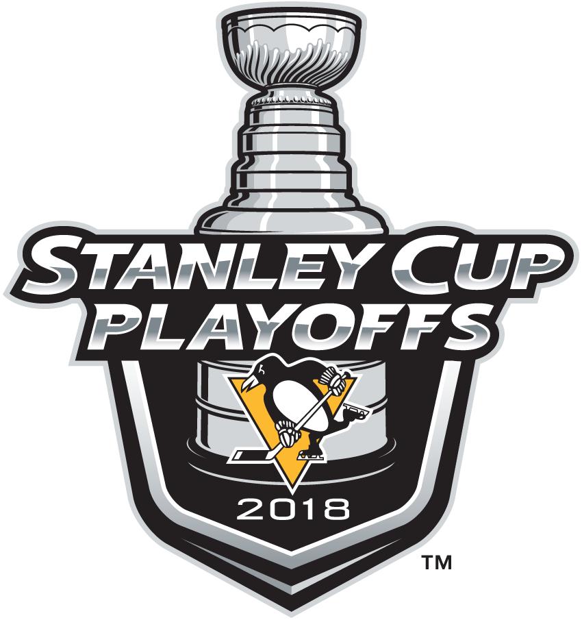Pittsburgh Penguins Logo Event Logo (2017/18) - Pittsburgh Penguins 2018 Stanley Cup Playoffs Logo SportsLogos.Net