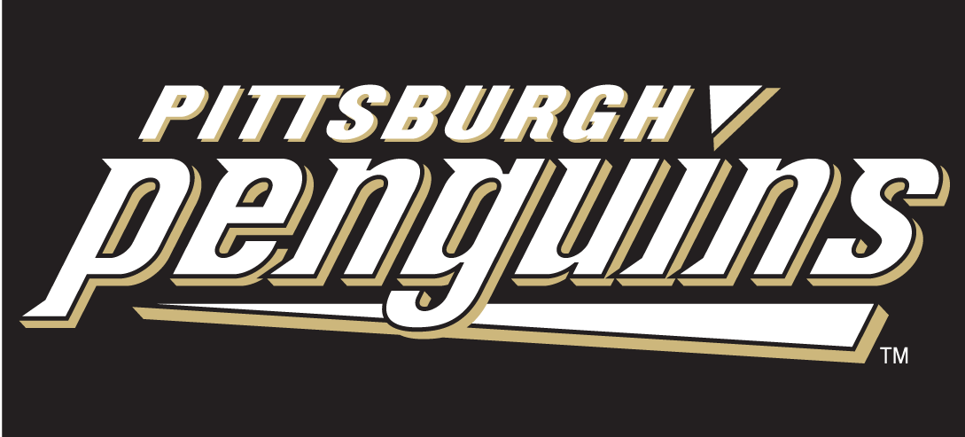 Pittsburgh Penguins Logo Wordmark Logo (2002/03-2008/09) -  SportsLogos.Net