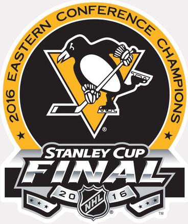 Pittsburgh Penguins Logo Champion Logo (2015/16) - 2016 Eastern Conference Champions logo SportsLogos.Net