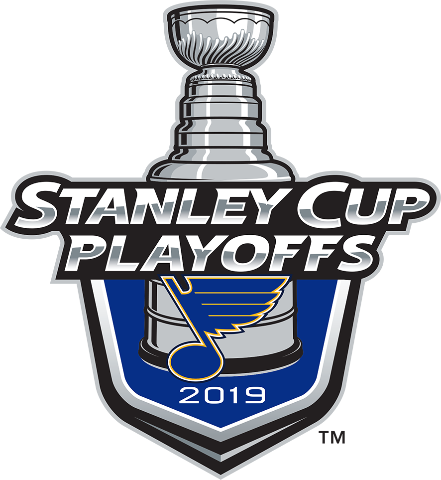 St. Louis Blues Logo Event Logo (2018/19) - St Louis Blues 2019 Stanley Cup Playoffs Logo SportsLogos.Net