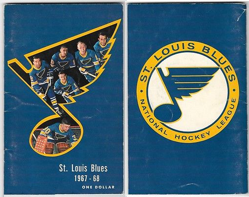 St. Louis Blues Media Guide Media Guide (1967/68) - 1967-68 St. Louis Blues media guide SportsLogos.Net