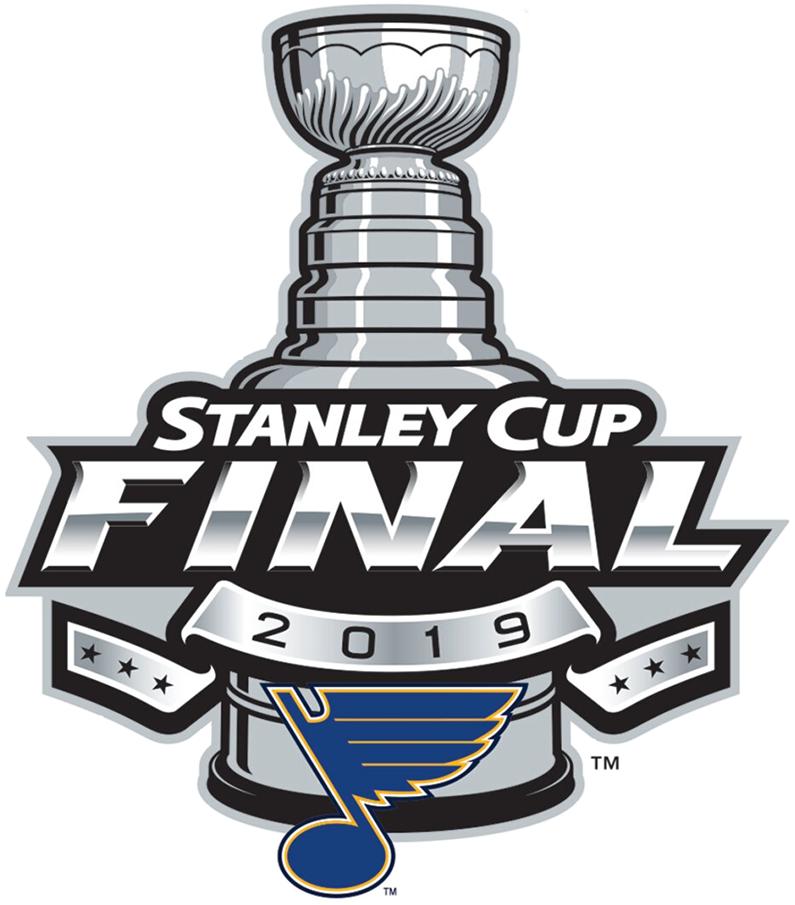 St. Louis Blues Logo Event Logo (2018/19) - St Louis Blues 2019 Stanley Cup Finals Logo SportsLogos.Net