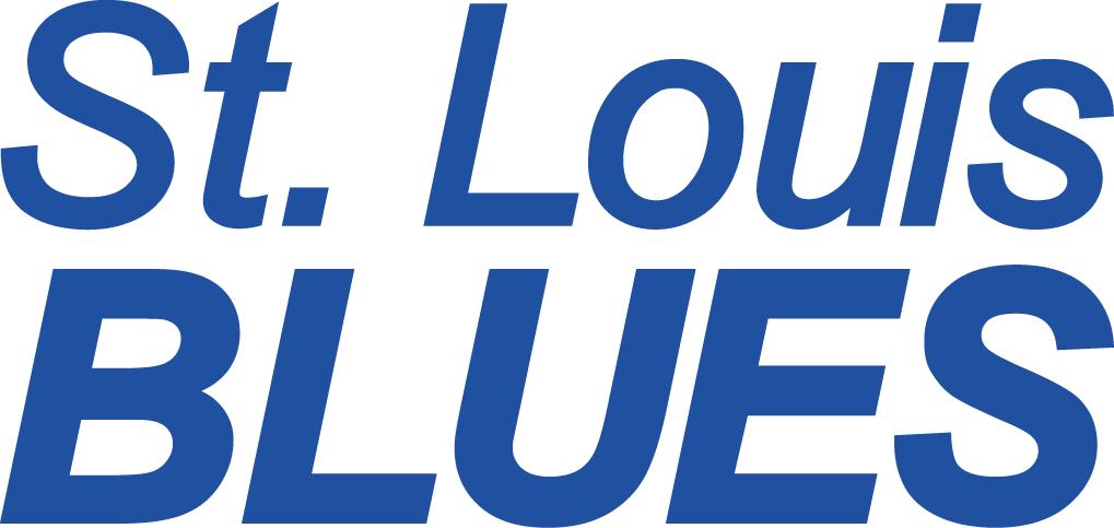 St. Louis Blues Logo Wordmark Logo (1967/68-1983/84) -  SportsLogos.Net