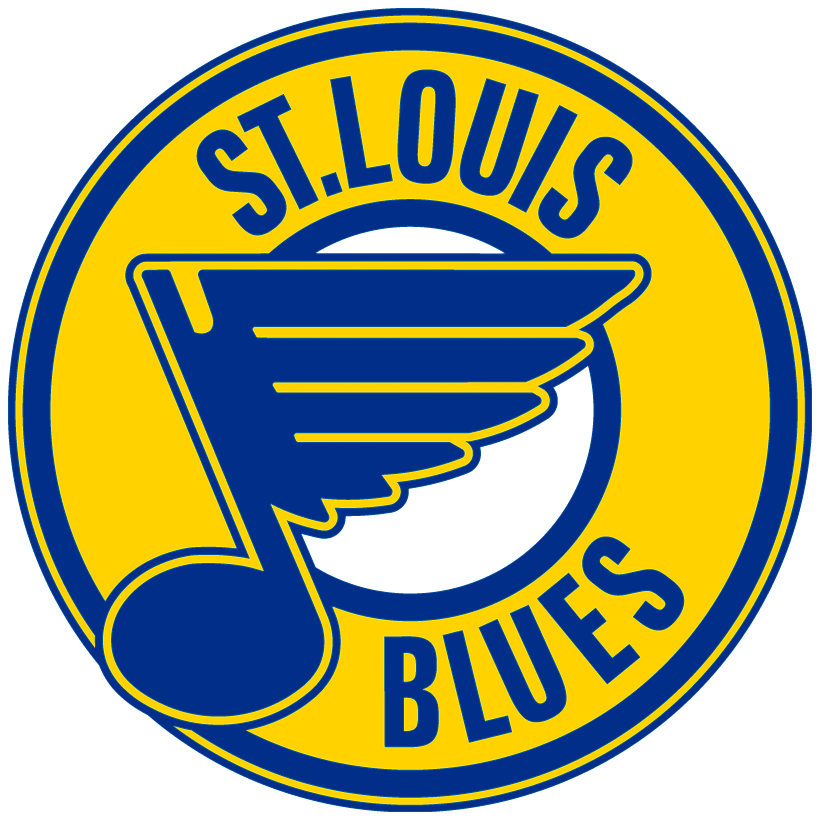 St. Louis Blues Logo Primary Logo (1978/79-1983/84) -  SportsLogos.Net