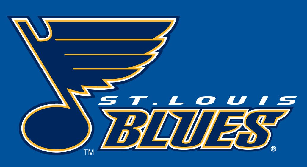 St. Louis Blues Logo Wordmark Logo (1998/99-2015/16) -  SportsLogos.Net