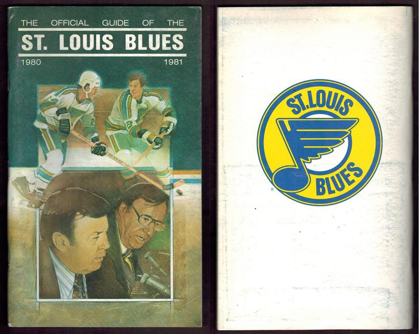 St. Louis Blues Media Guide Media Guide (1980/81) - 1980-81 St. Louis Blues media guide SportsLogos.Net