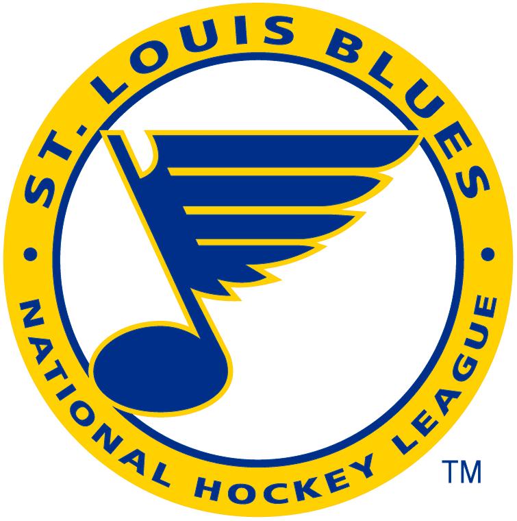 St. Louis Blues Logo Alternate Logo (1967/68-1977/78) -  SportsLogos.Net