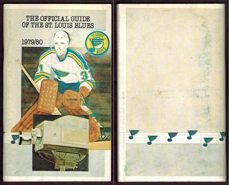 St. Louis Blues Media Guide Media Guide (1979/80) - 1979-80 St. Louis Blues media guide SportsLogos.Net