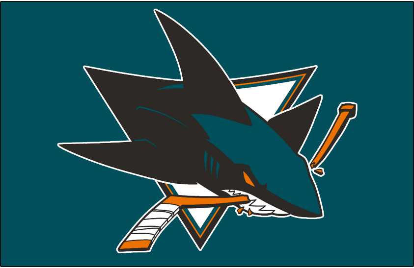 San Jose Sharks Jersey Logo - National Hockey League (NHL ...
