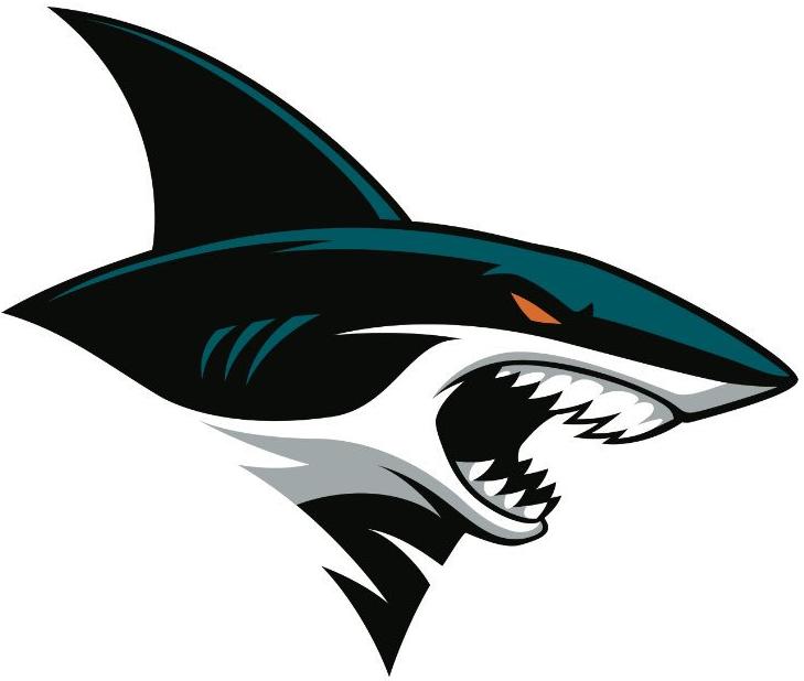 San Jose Sharks Logo Alternate Logo (2016/17-Pres) -  SportsLogos.Net