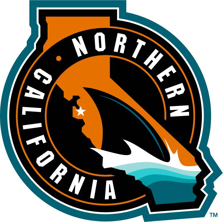 San Jose Sharks Logo Special Event Logo (2014/15) - San Jose Sharks Northern California Logo -- Worn as a shoulder patch on the San Jose Sharks 2015 Stadium Series jersey SportsLogos.Net