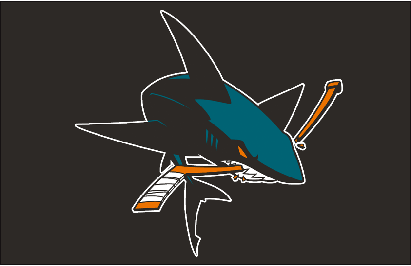 San Jose Sharks Jersey Logo - National Hockey League (NHL) - Chris ... 9a102f560