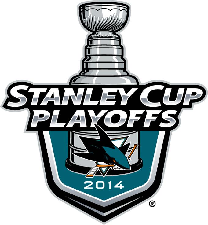 San Jose Sharks Logo Event Logo (2013/14) -  SportsLogos.Net