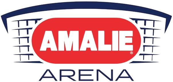 Tampa Bay Lightning Logo Stadium Logo (2014/15-Pres) - Amalie Arena Logo - Tampa, FL SportsLogos.Net
