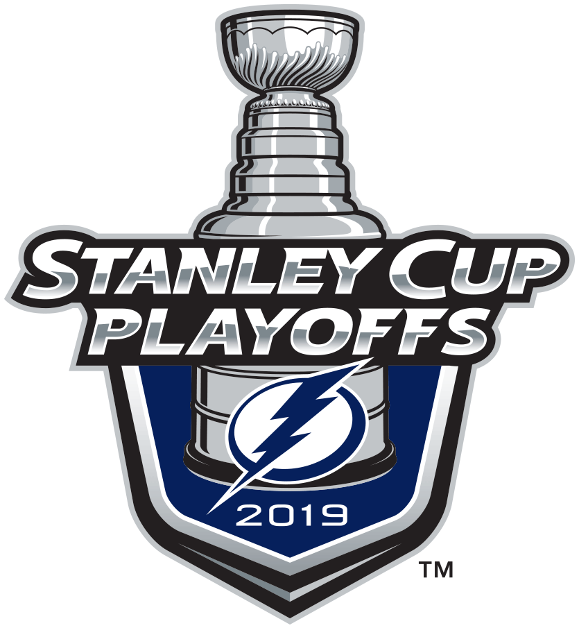 Tampa Bay Lightning Logo Event Logo (2018/19) - Tampa Bay Lightning 2019 Stanley Cup Playoffs Logo SportsLogos.Net