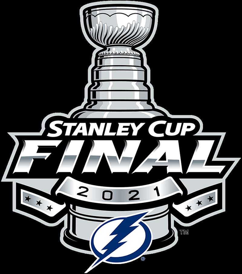 Tampa Bay Lightning Logo Event Logo (2020/21) - Tampa Bay Lightning 2021 Stanley Cup Final logo SportsLogos.Net