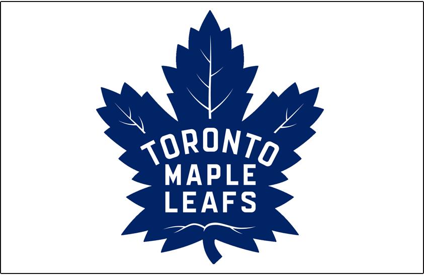Toronto Maple Leafs Logo Jersey Logo (2016/17-Pres) - Toronto Maple Leafs logo on white, worn on chest of road jersey since 2016-17 SportsLogos.Net