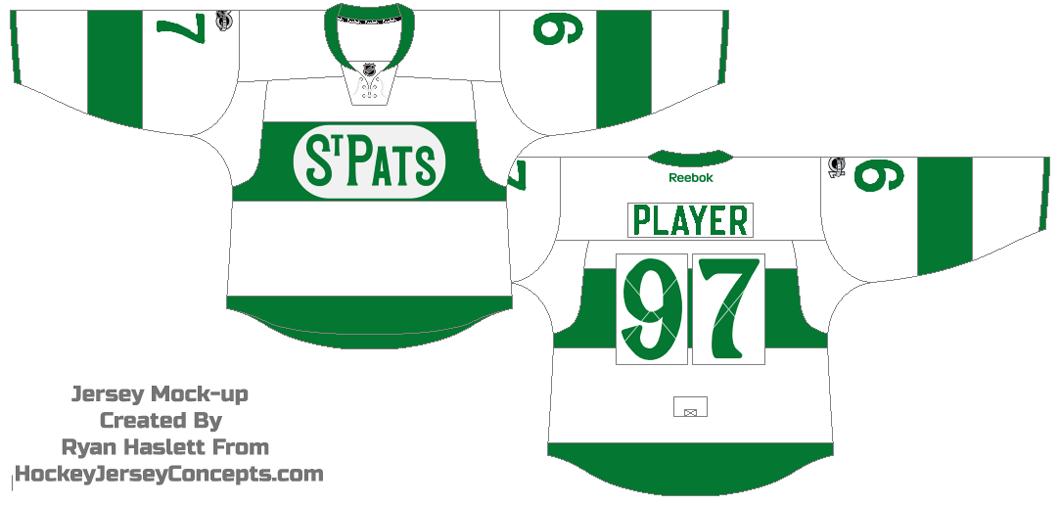 Toronto Maple Leafs Logo Throwback Logo (2016/17) - Toronto St. Pats Throwback jersey SportsLogos.Net