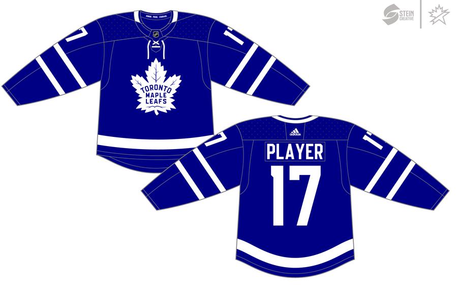 Toronto Maple Leafs Uniform Dark Uniform (2017/18-Pres) - Adidas Jersey SportsLogos.Net