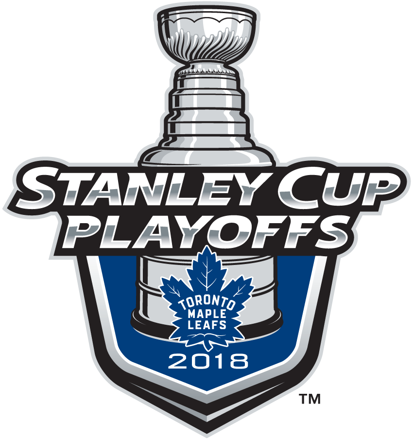 Toronto Maple Leafs Logo Event Logo (2017/18) - Toronto Maple Leafs 2018 Stanley Cup Playoffs Logo SportsLogos.Net