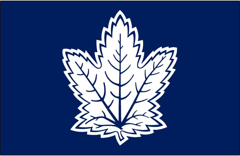 Toronto Maple Leafs Logo Alt on Dark Logo (2010/11-2015/16) -  SportsLogos.Net