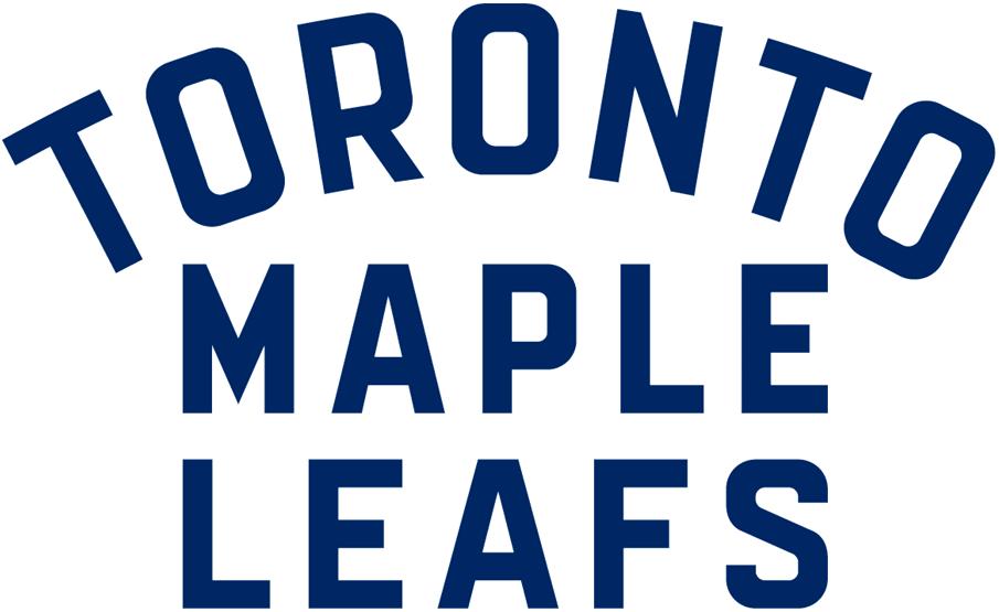Toronto Maple Leafs Logo Wordmark Logo (2016/17-Pres) -  SportsLogos.Net