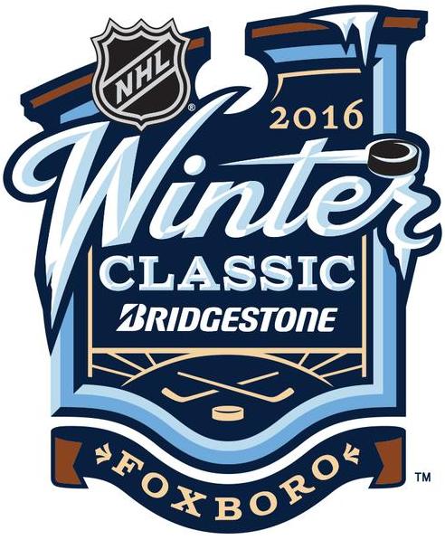 NHL Winter Classic Logo Primary Logo (2015/16) - 2016 NHL Winter Classic at Gillette Stadium in Foxborough, Massachusetts  SportsLogos.Net