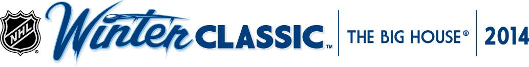 NHL Winter Classic Logo Wordmark Logo (2013/14) -  SportsLogos.Net